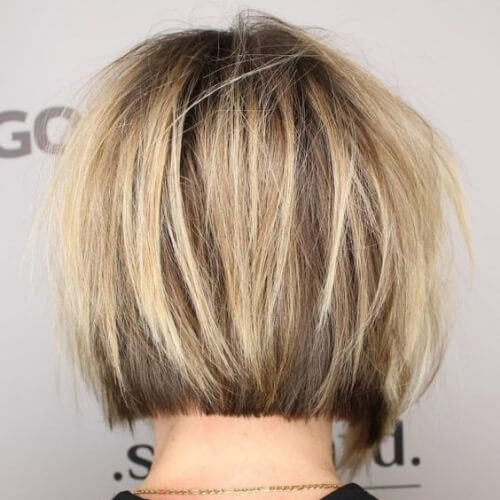 Straight Cut Short Bob short straight hairstyles
