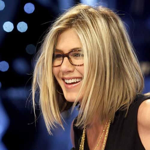 jennifer aniston short straight hairstyles