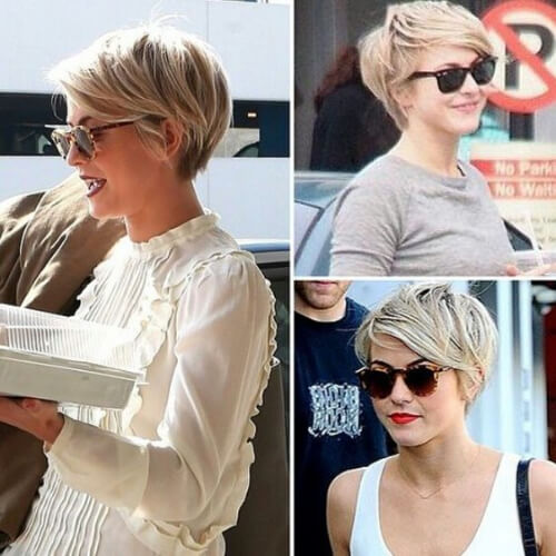 julianne hough short straight hairstyles
