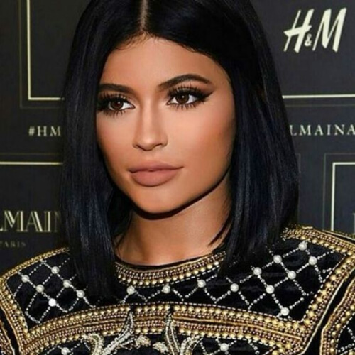kylie jenner short stright hairstyles