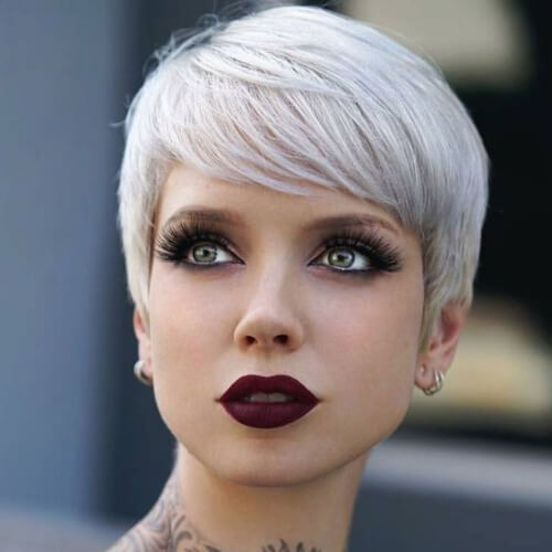 pixie short straight hairstyles