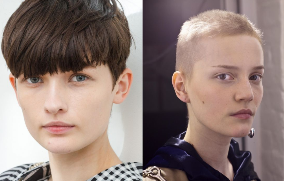 Androgynous Haircuts