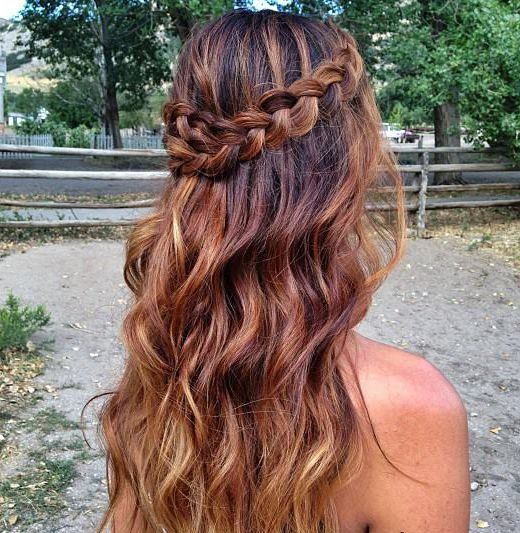 Boho-inspired braid hairstyles