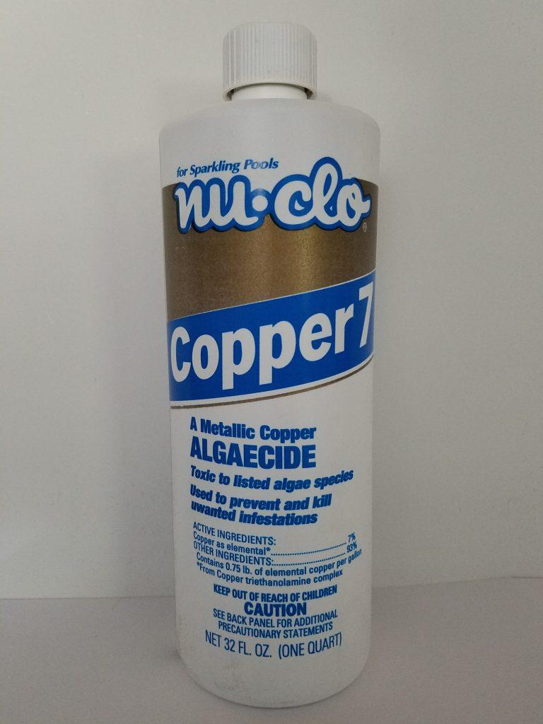 Copper-Based Algaecides