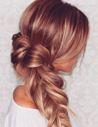 Fluffy Side Braid
