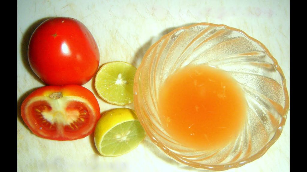 Vinegar, Tomato and Lemon