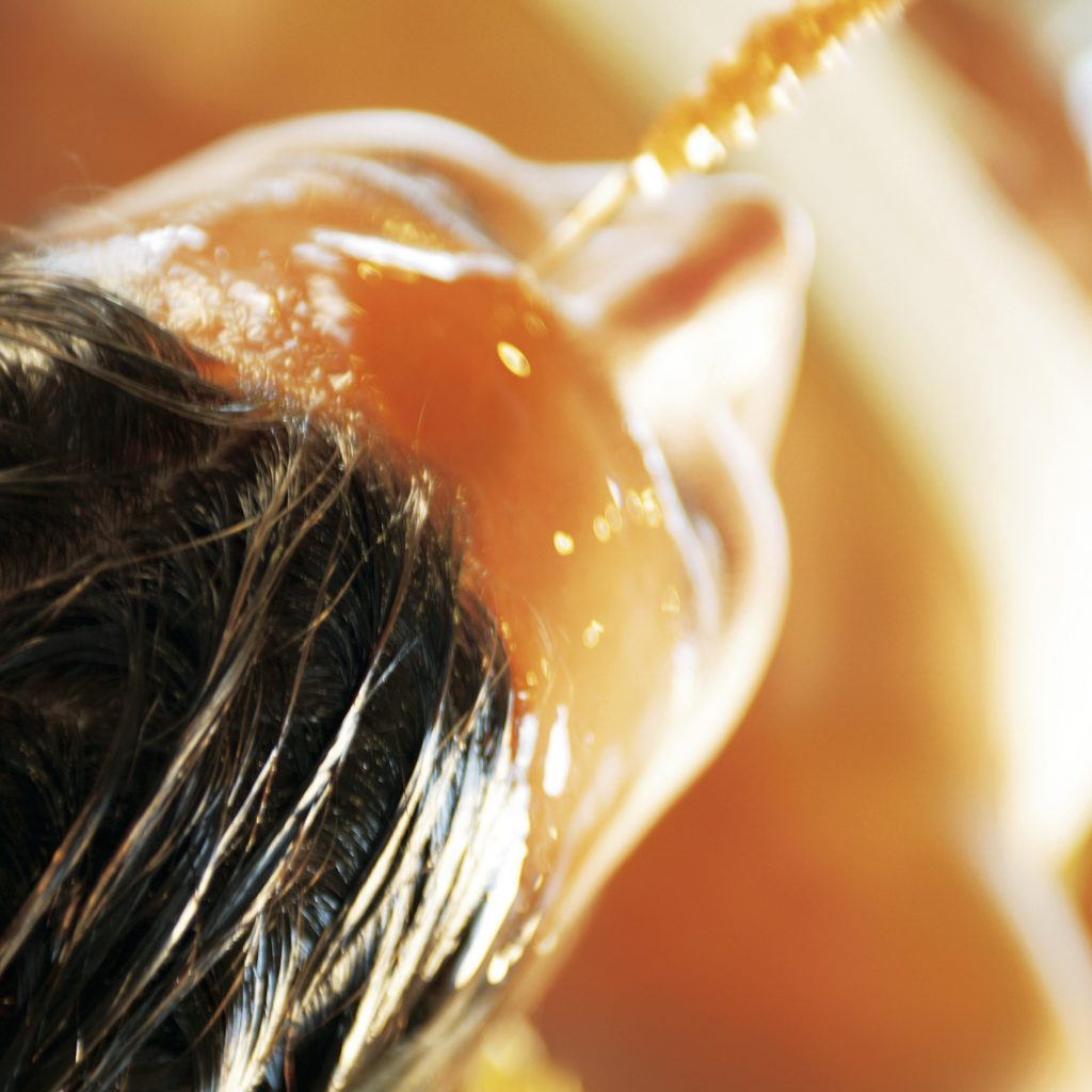 Coating Hair with Oil