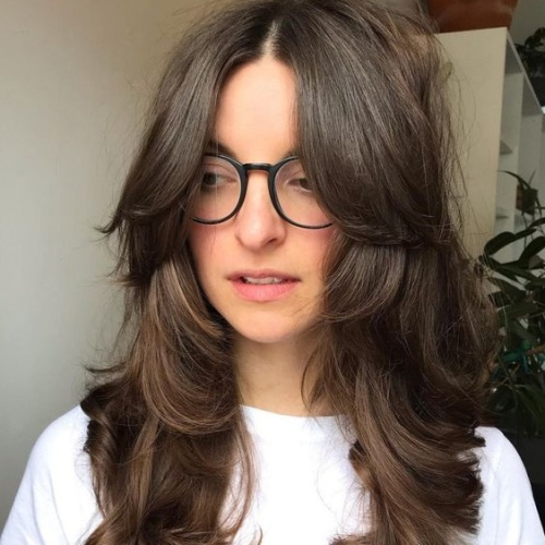 Boho Long Layered Haircuts for Thick Hair