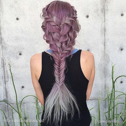 braided mermaid fishtail