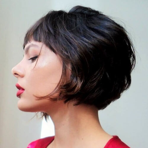 Chanel Inverted Bob with Bangs