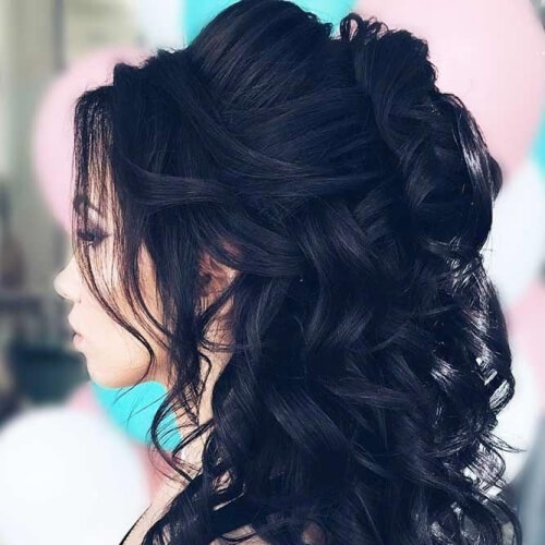 50 Half Up Half Down Hairstyles You Ll Totally Love Hair