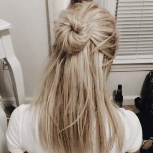 20 Perfect Half Up Half Down Hairstyles: 50 Half Up Half Down Hairstyles You'll Totally Love