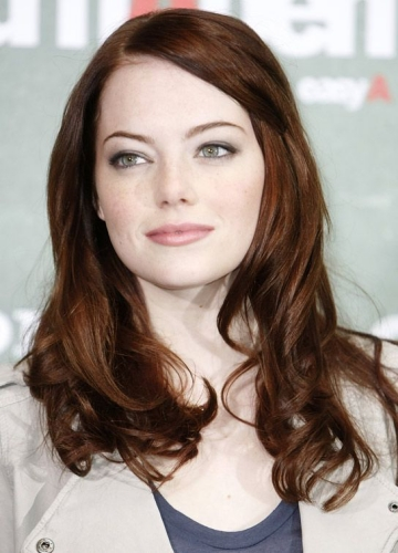 Emma Stone Haircut with Cascading Ringlets
