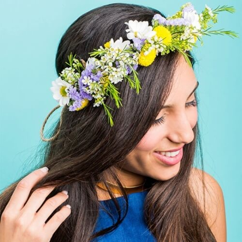 Fresh Flower Crowns