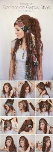 gypsy style hair