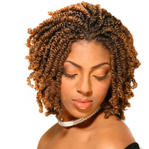 Inverted Kinky Twists Bob