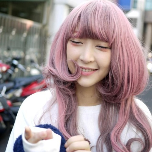 Kawaii Layered Haircuts for Long Hair