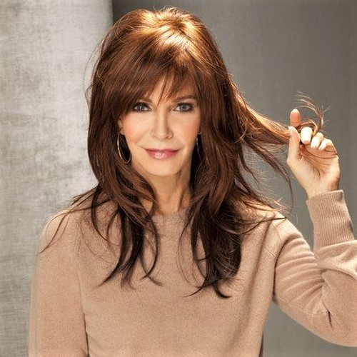 Layered Haircuts for Long Hair Women Over 40