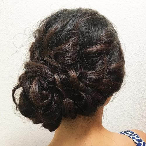 Loose Side Bun