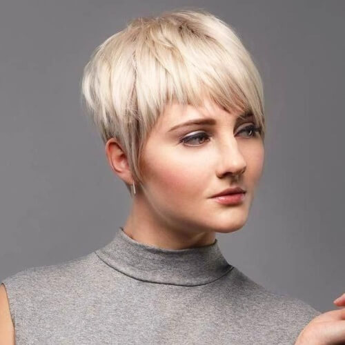 Pixie Types of Bangs