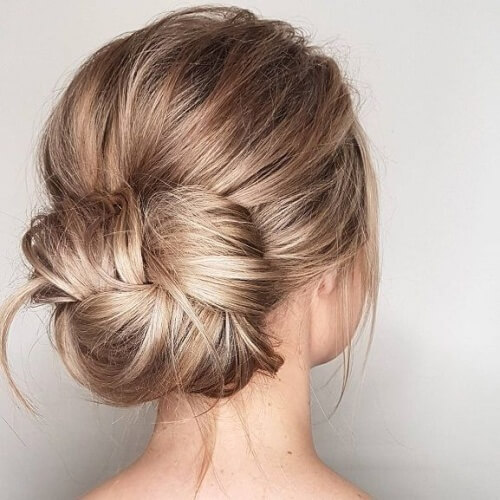 Three Section Messy Bun