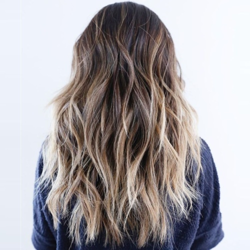 Wavy Cool Long Layered Haircuts