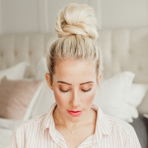 Wrapped Easy Messy Bun