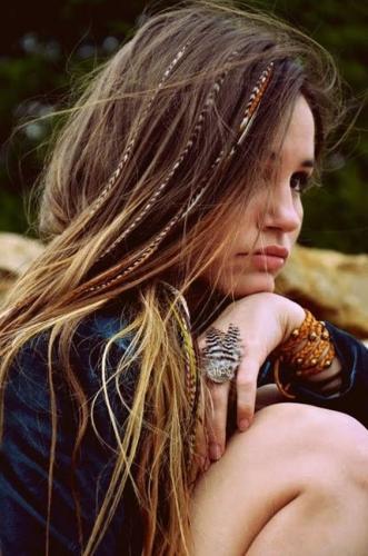 bohemian braids chic