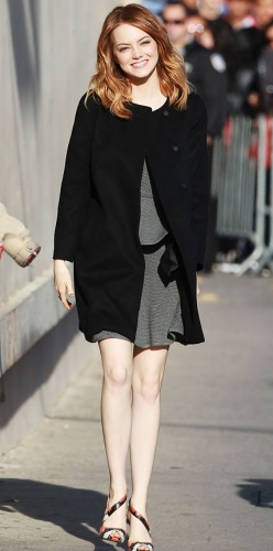 emma stone casual looks
