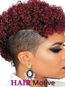 shaved hairstyles for black women featured image