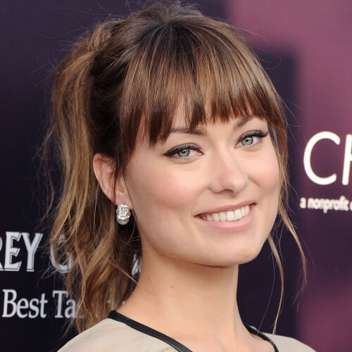 Full Bangs Hairstyles
