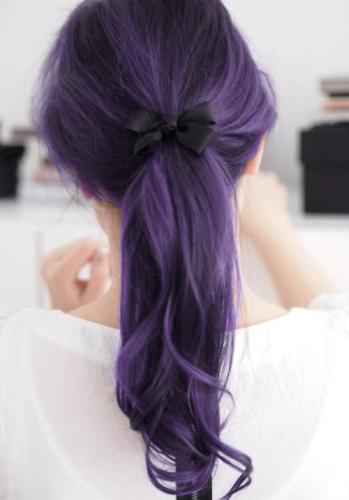 Hairstyles for Medium Length Thin Hair - Purple Dreams