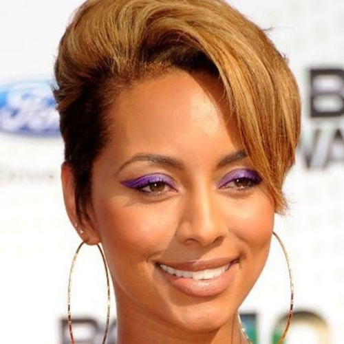 Keri Hilson Pixie Short Hairstyles for Black Women