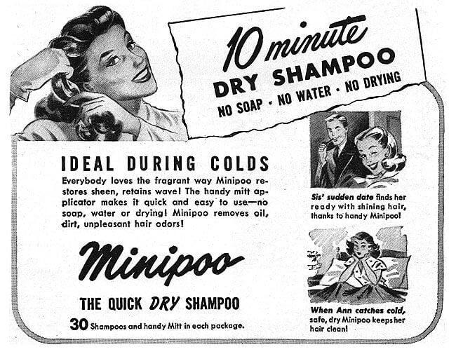 minipoo dry shampoo ad