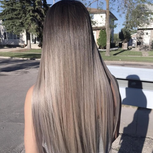 Ash Brown Hair Colors