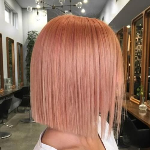 Blunt Bob Hairstyles for Straight Hair