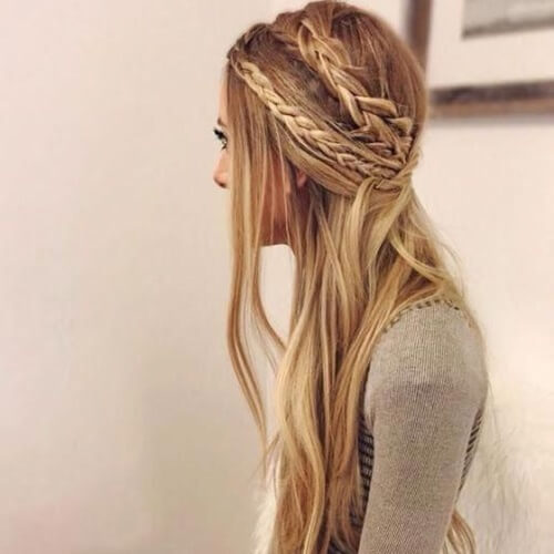 Boho Hairstyles for Straight Hair