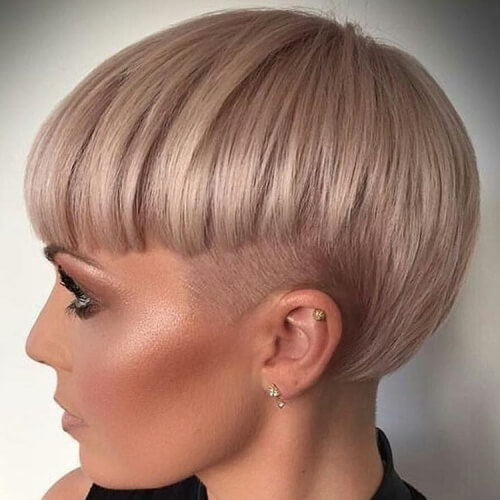 Bowl Cut Bob Hairstyles