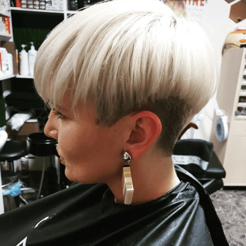 Bowl Cut Short Straight Hairstyles