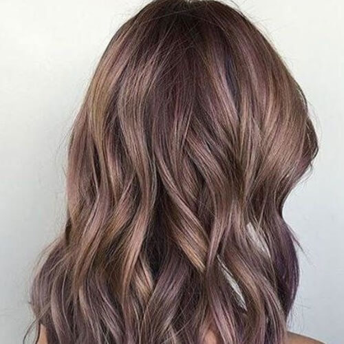 Brown Pastel Hair Colors