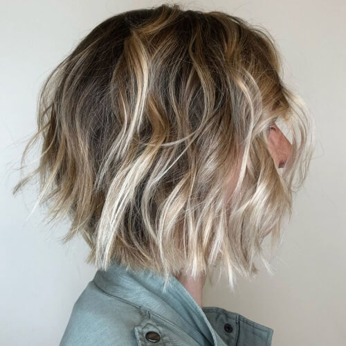 Choppy and Messy Bob Hairstyles