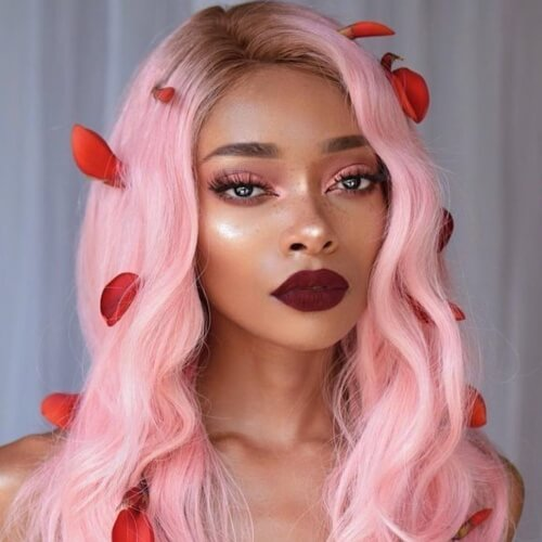 Cutest Pastel Hair Colors for Dark Skin