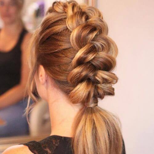 Dutch Braid Hairstyles for Straight Hair