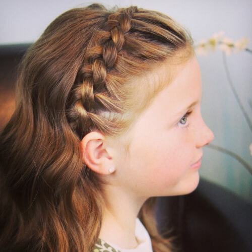 Dutch Braid Headband Hairstyles