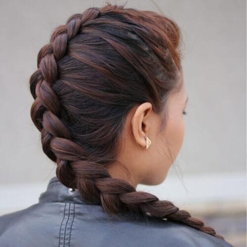 Easy Dutch Braid Hairstyles