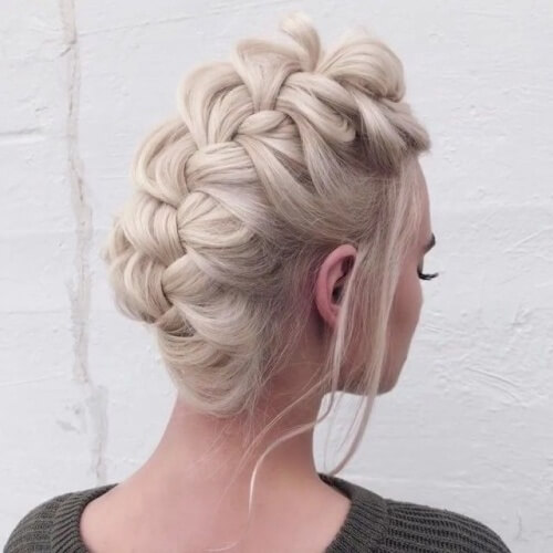 Faux Hawk Hairstyles for Straight Hair
