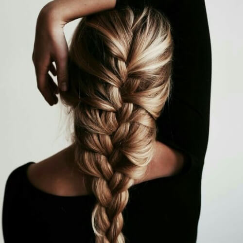 French Braid Straight Hairstyles