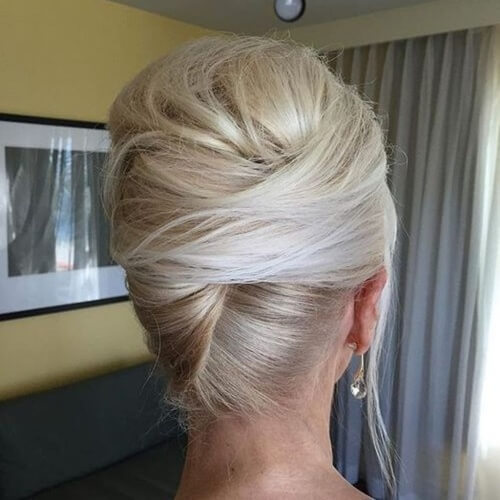 French Roll Updo Hairstyles