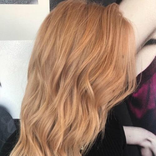 Golden Pastel Hair Colors
