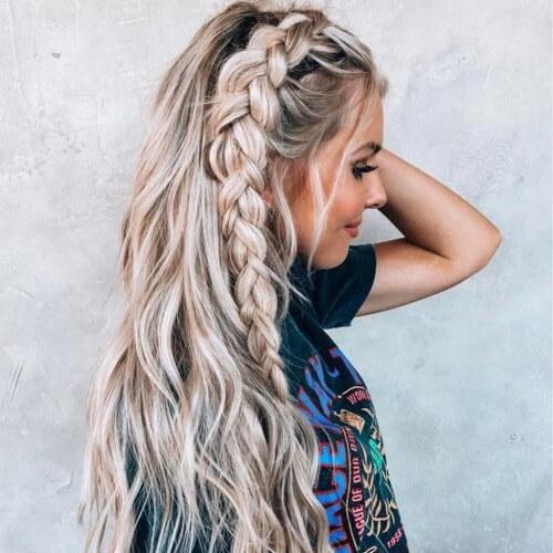 30 Prettiest Dutch Braid Hairstyles How To Hair Motive